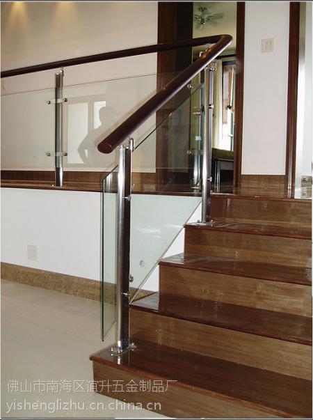 供应谊升室外不锈钢楼梯玻璃栏杆护栏配件厂家