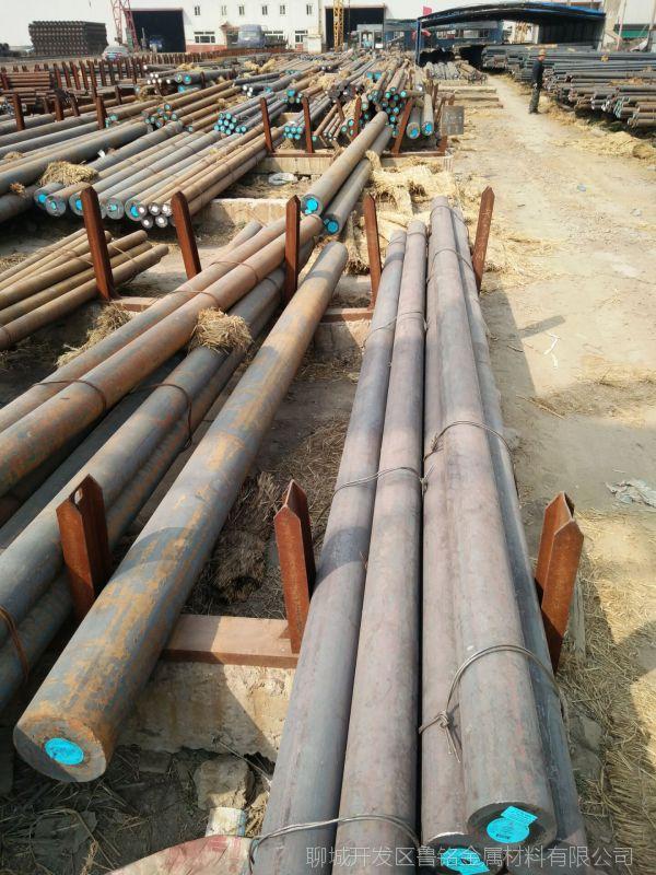 山东聊城现货供应Q235热轧圆钢 圆钢掏空 数控切割