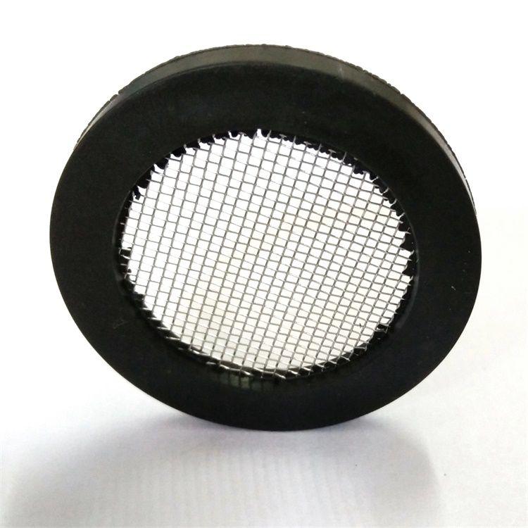 揭陽市外徑30mm 橡膠濾網墊片304濾網40目DN25YF202006
