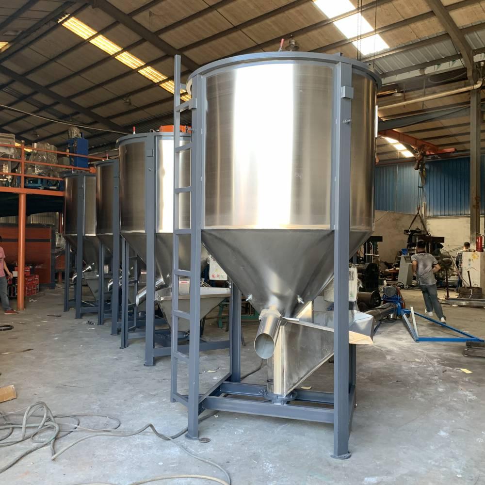 广东河源1吨大米搅拌桶 大豆搅拌机 立式拌料桶生产厂家