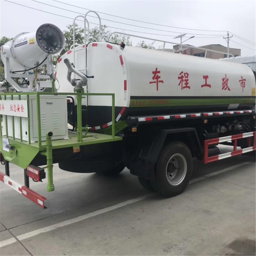 东风程力洒水车视频 工地用洒水车 10吨洒水车生产厂家