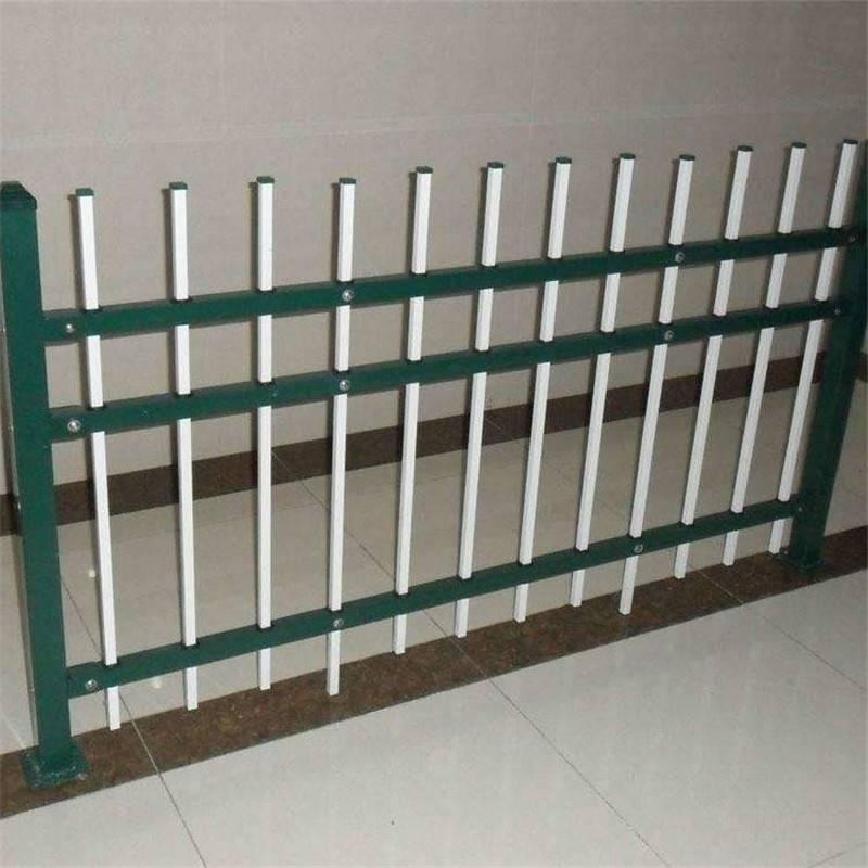 學校圍墻護欄 鋅鋼護欄 鋅鋼隔離柵