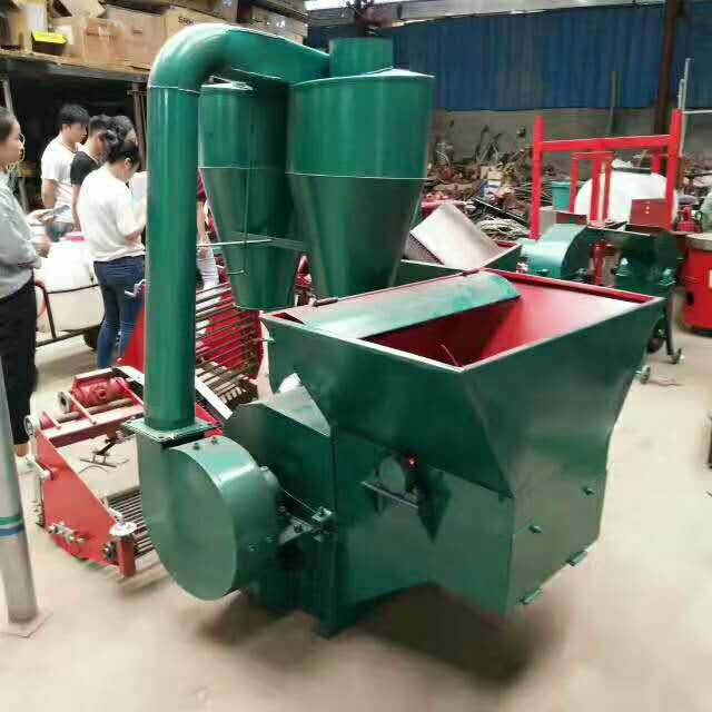 沙克龙秸秆粉碎机 自动进料铡草粉碎机