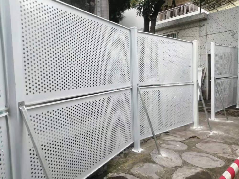 防风施工护栏/冲孔围挡/隔离施工重业设施