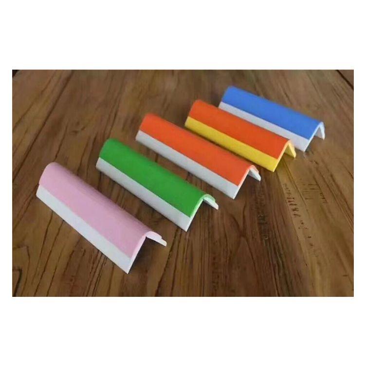 幼儿园护角厂家/PVC软护角颜色可以定制/医院护墙角板