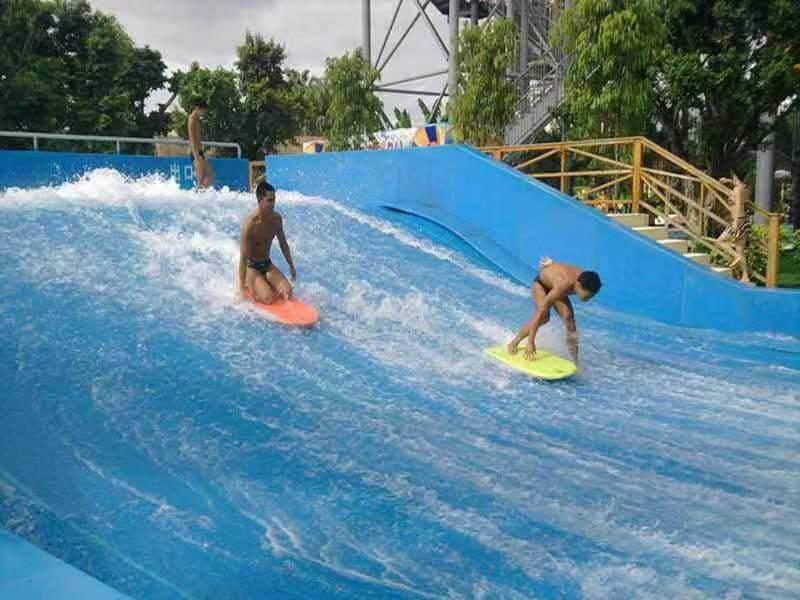 上海幕明夏季互动道具水上冲浪/移动式滑板冲浪