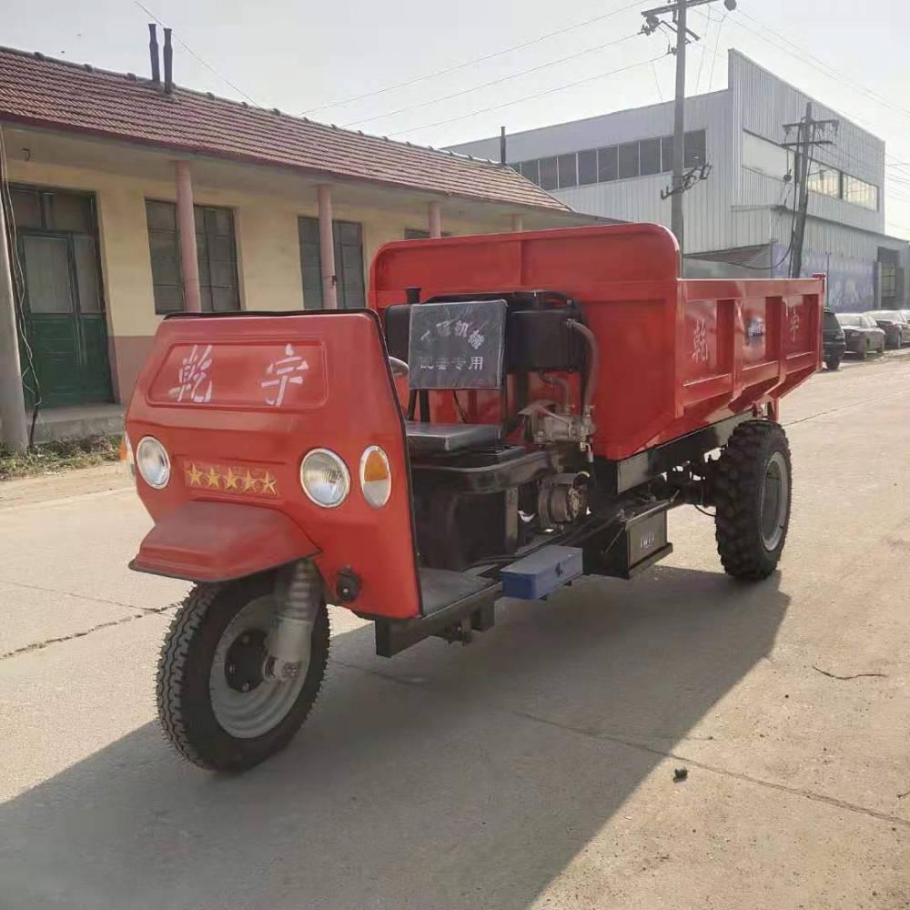 山西厂家***工程三轮车 18马力工地运输柴油工程三轮车