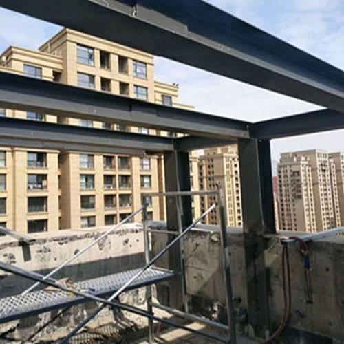 北京钢结构厂房搭建+厂房二层改造制作