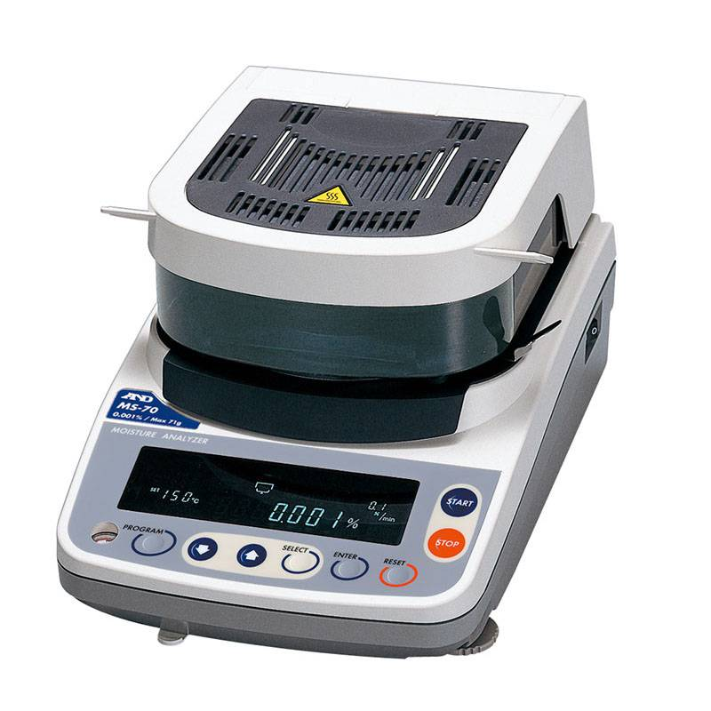 日本AND水分测定仪 加热干燥式水分计 MX-50水分测试仪