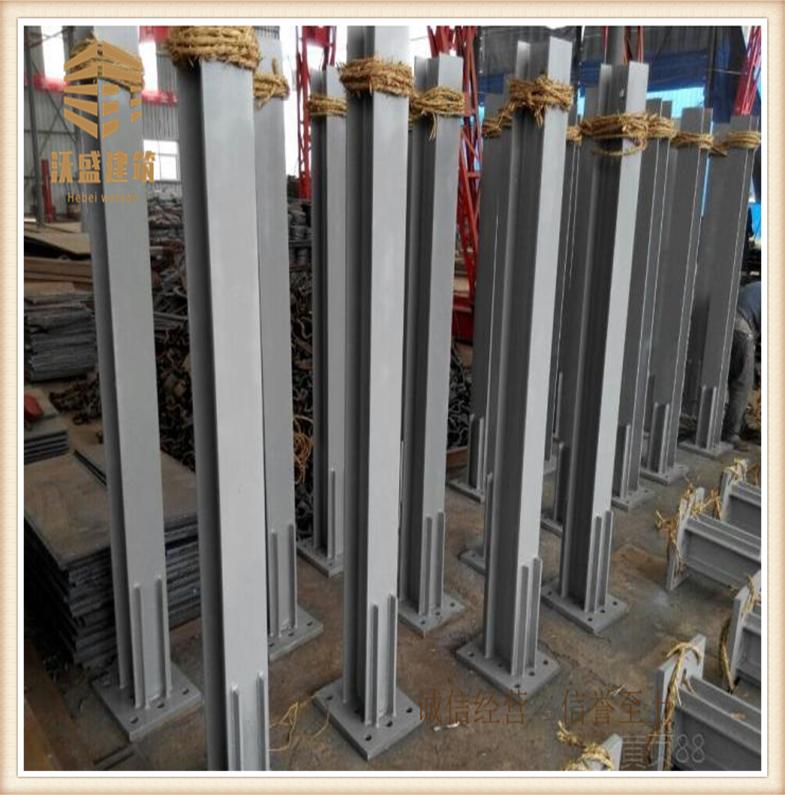声屏障立柱预埋件,路基钢立柱