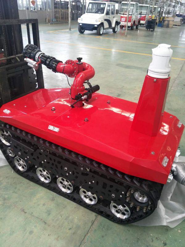 消防机器人,机器灭火人,遥控1公里,扬程70米