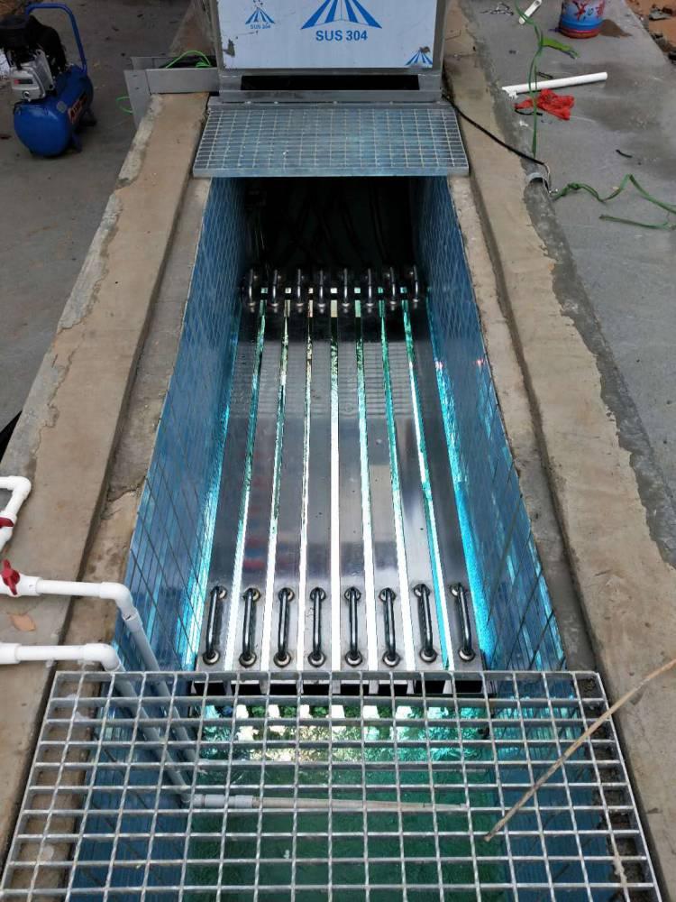 明渠式紫外线消毒设备消毒模块杀菌设备厂家定制排架式消毒模块