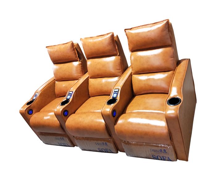 现代影院4D体感沙发,电动VIP沙发座椅佛山赤虎厂家