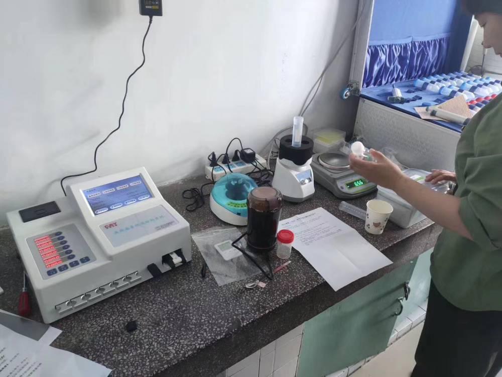 米面糧油雜糧真菌嘔吐黃曲霉毒素快速檢測分析儀