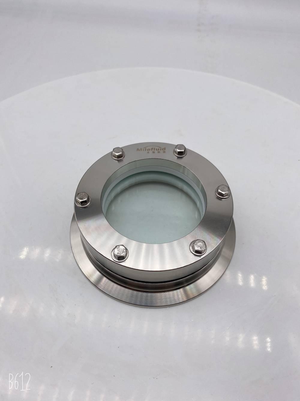 不锈钢卫生级法兰视镜无菌法兰快装视镜生产厂家