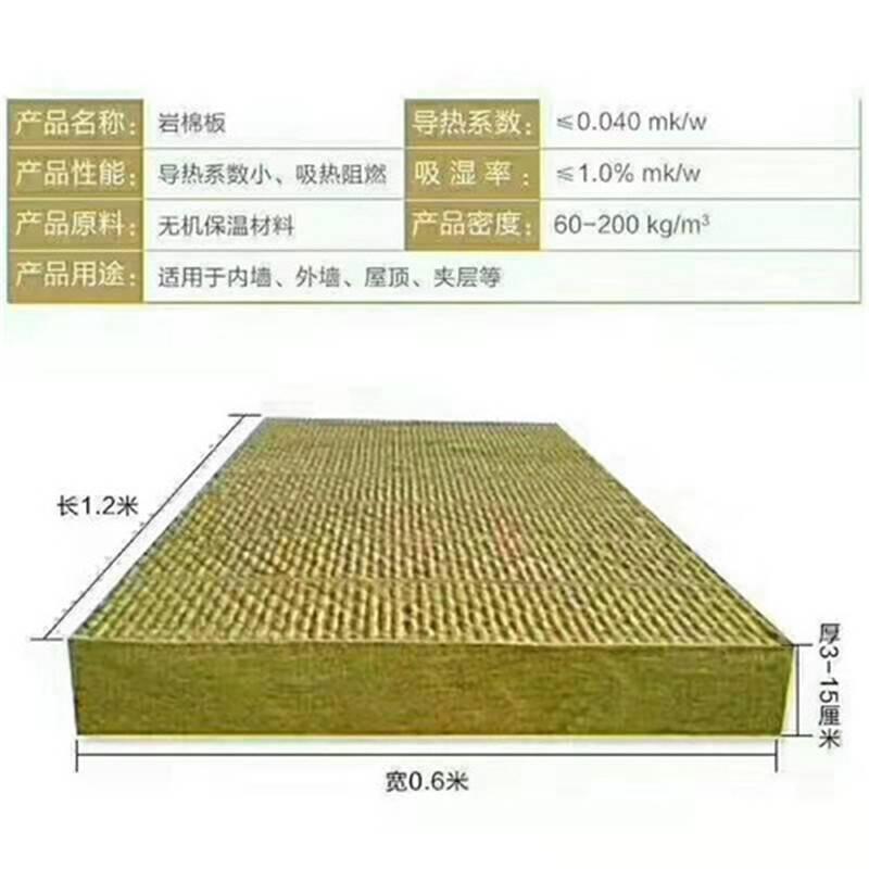 ***外墙***岩棉板生产中,质量有保证