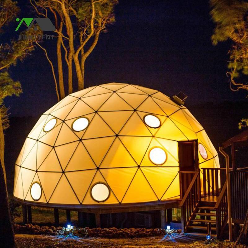 广东星空帐篷酒店厂家定制生产 球形篷房 民宿帐篷