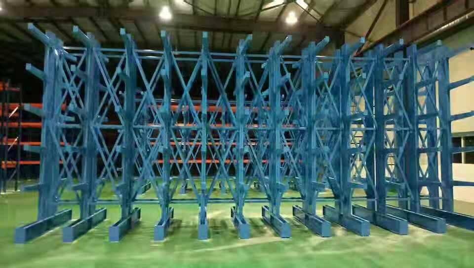 悬臂货架 仓储货架 单面重型悬臂货架 双面悬臂式