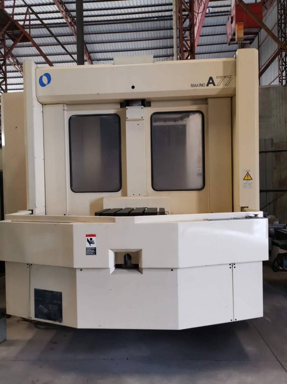日本牧野双工位630卧式加工中心A77