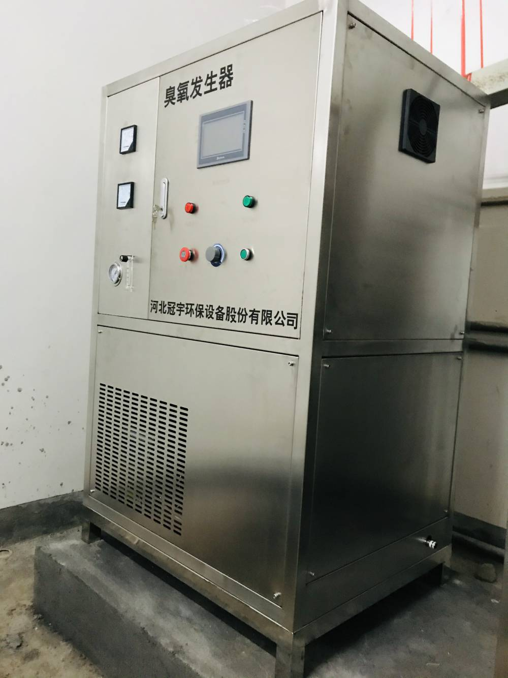泳池水处理500g臭氧发生器安装实例