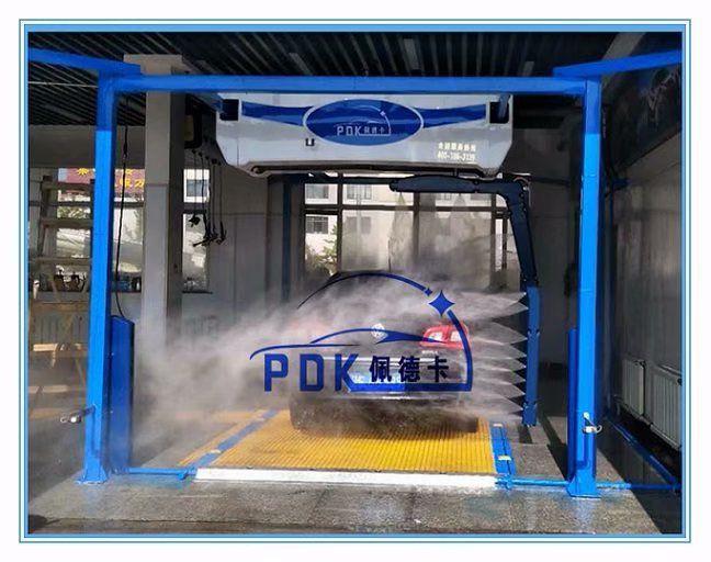 杭州 佩德卡无接触式全自动洗车机产品功能