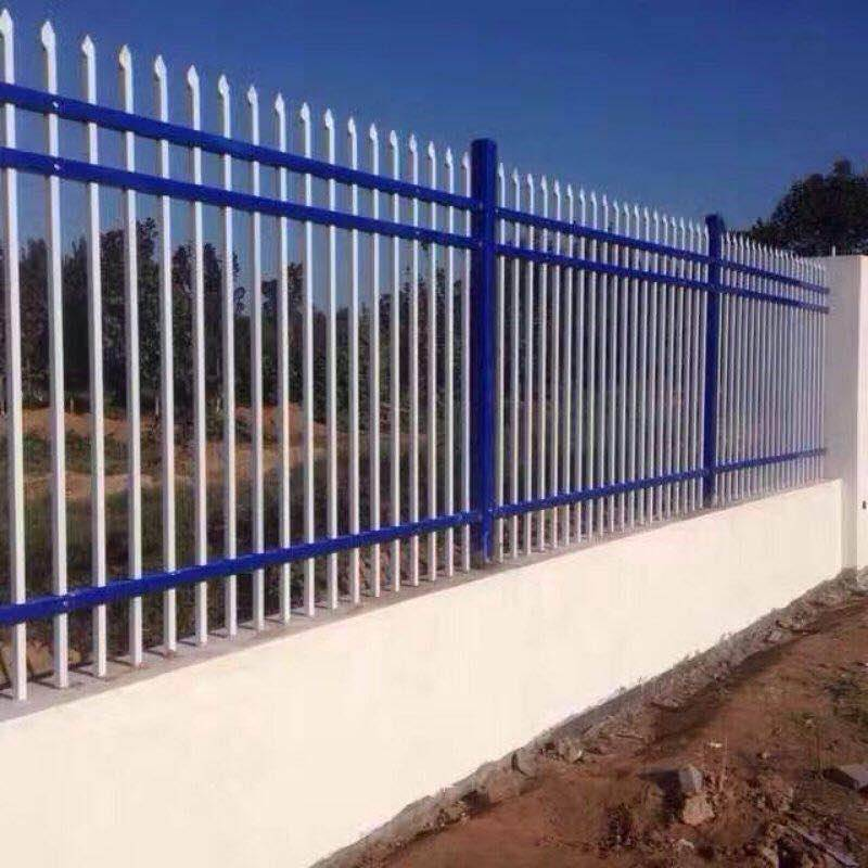 锌钢护栏喷塑大型流水线视频