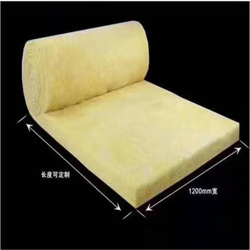 耐高温玻璃棉卷毡生产中,钢结构***离心玻璃棉卷毡薄利多销