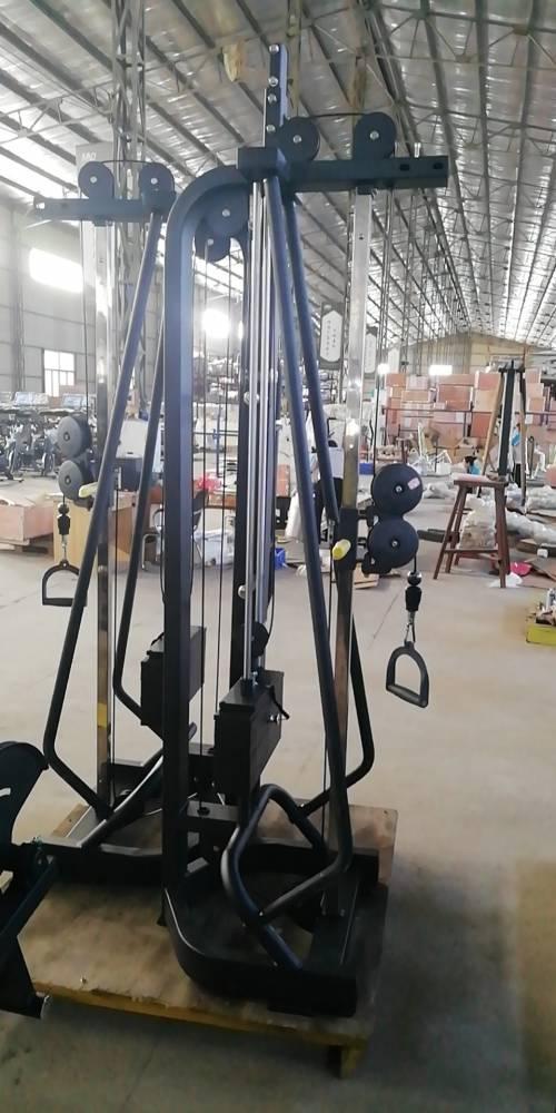 直供山东多功能健身器械健身房大飞鸟龙门架训练器