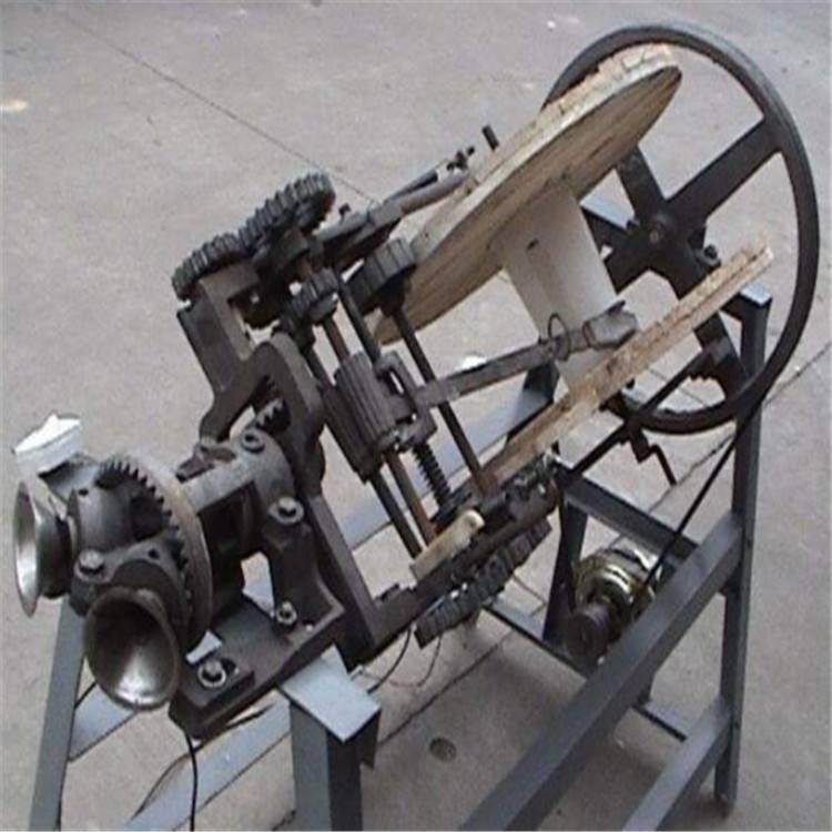 草绳编织机 手工作坊草苫机 稻草编织草绳加工设备