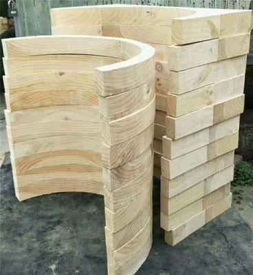 25*25 貴州畢節地區大型C型木托墊塊含運費價格
