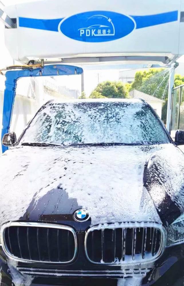 杭州全自动洗车机佩德卡360a智能无接触洗车机免运费进口材质