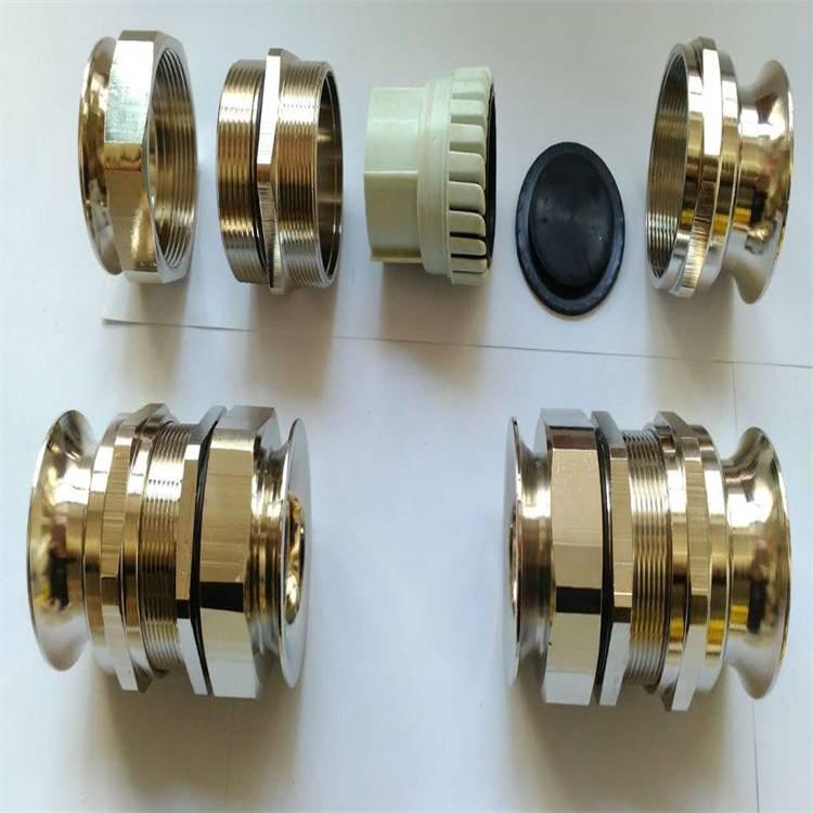 石家庄黄铜喇叭口电缆接头厂家M50双边喇叭口电缆接头不锈钢单侧喇叭口接头