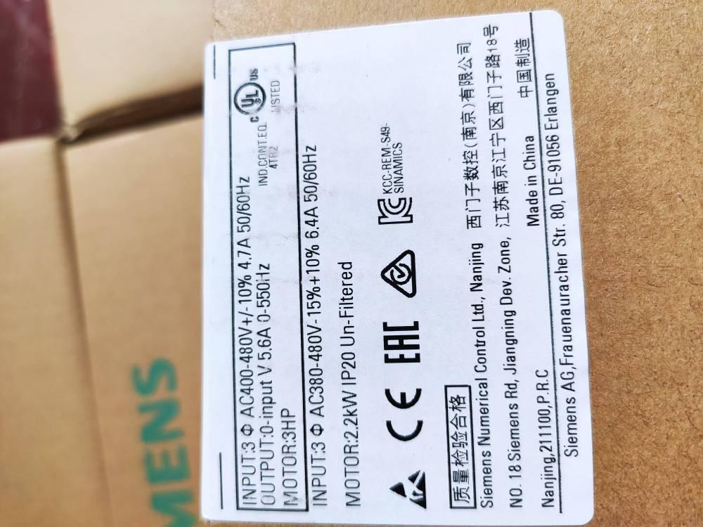 成都西门子变频器6SL3210-5BE22-2UV0