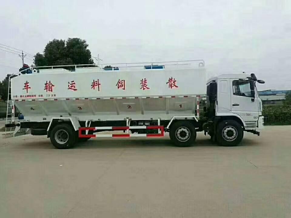 東風天錦30噸散裝飼料車