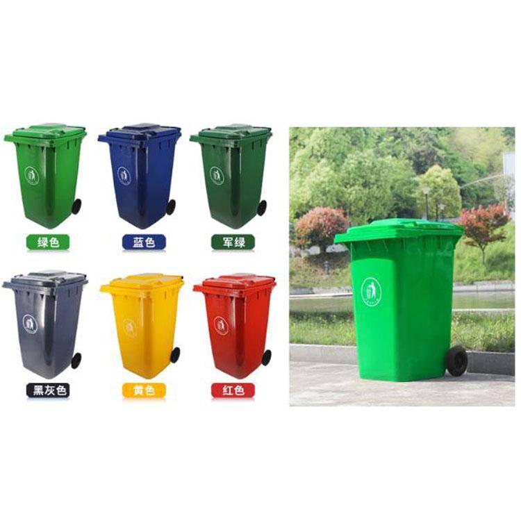 山东垃圾桶厂家   户外垃圾桶产品暴力测试