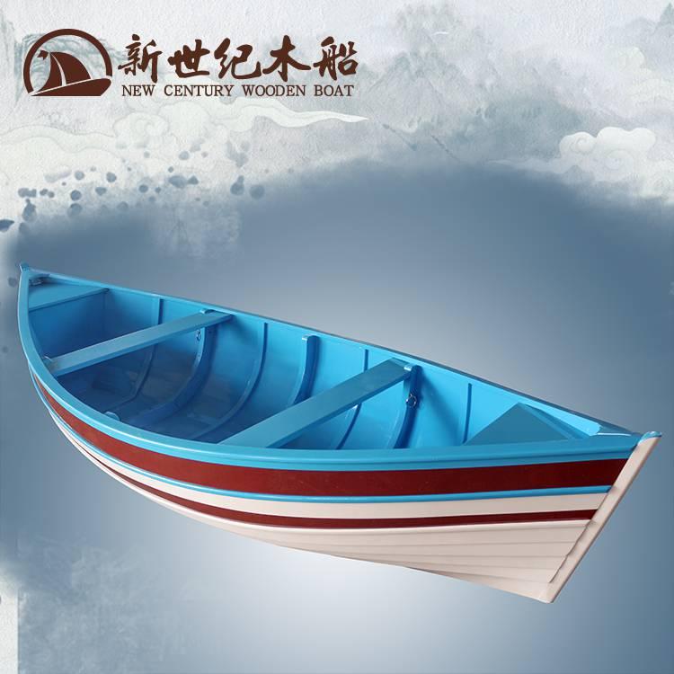 欧式乐动体育app下载室内装饰 户外独木舟公园景观水上手划船