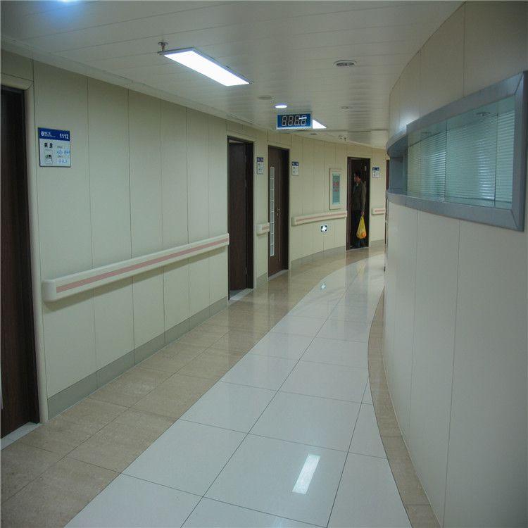 黑龙江三甲医院防撞扶手/老年公寓走廊安全扶手/PVC外壳内铝型材河北厂家