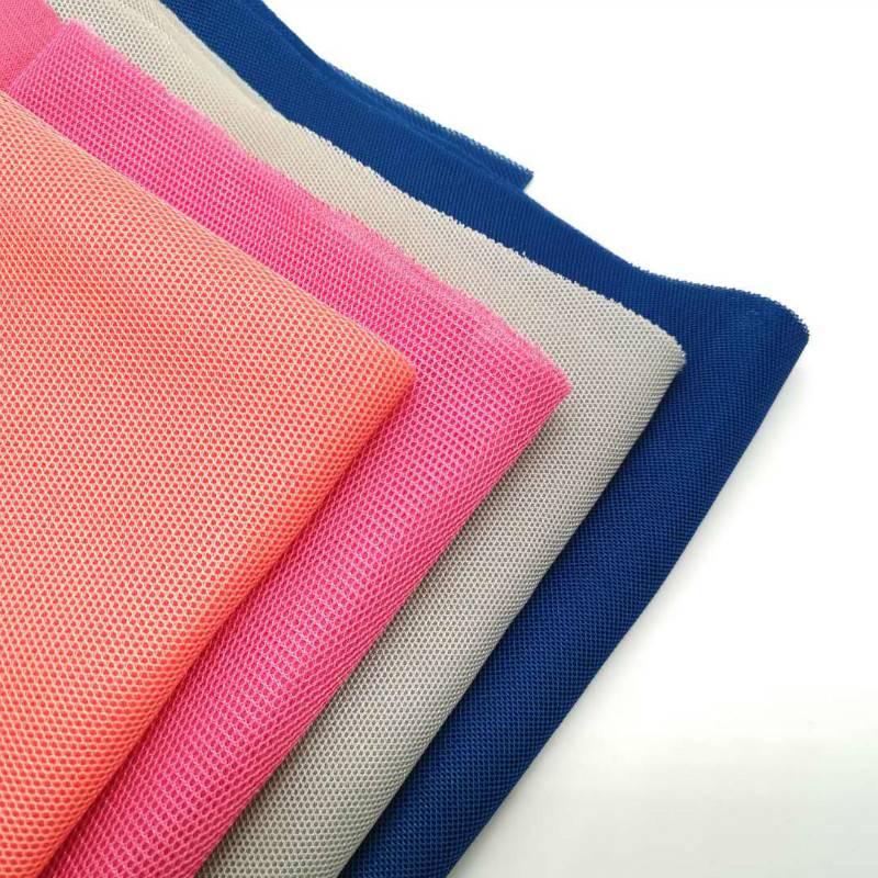 欣华小网孔3d间隔网布鞋材箱包用网布面料