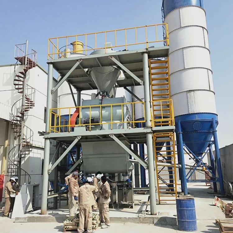 年产40万吨预拌砂浆生产线   保温干粉砂浆双配套生产线