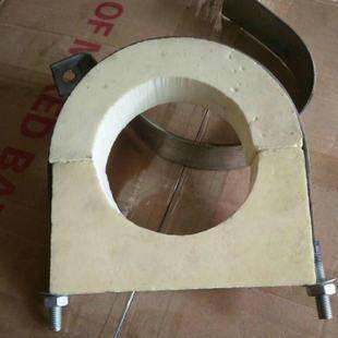 25*25 遼寧沈陽橡塑木托塊管鐵卡生產價格