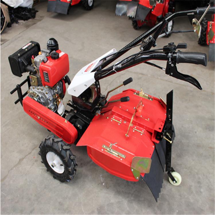 四驱柴油192型旋耕机 大马力微耕机 多功能微耕机