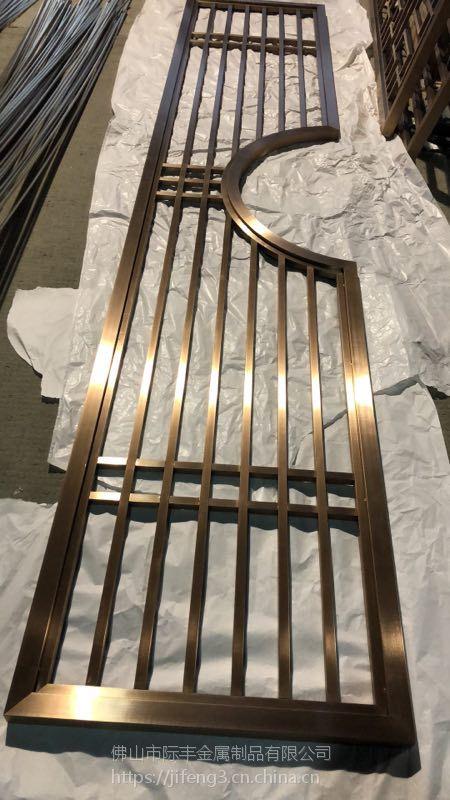 不锈钢花格厂家,装饰不锈钢隔断,装饰屏风厂家