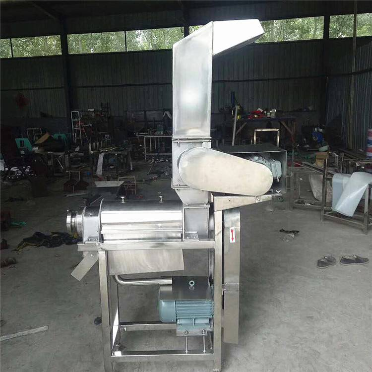 食品果汁厂专用大型螺旋破碎榨汁机 商用果蔬加工设备 洋葱榨汁机