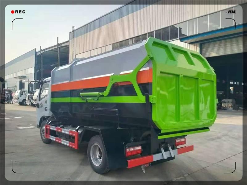 餐厨(挂桶、自卸)式垃圾车工作使用视频