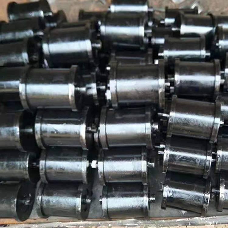 山西铸钢地滚 矿用地滚轮规格 地轮厂家***