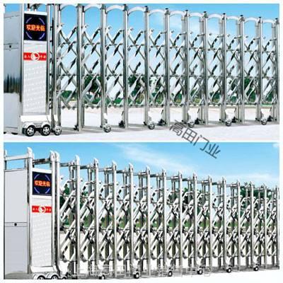 供应上海不锈钢电动伸缩门/上海电动门价格/上海工厂伸缩门