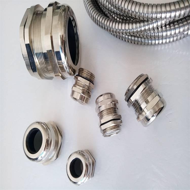 马鞍山不锈钢密封电缆固定头厂家接管式电缆密封接头不锈钢电缆锁紧接头