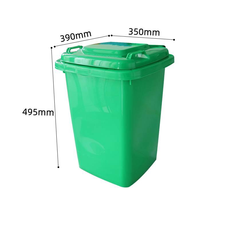 湖南利鑫PZ0030L环卫垃圾桶_新农村分类垃圾桶