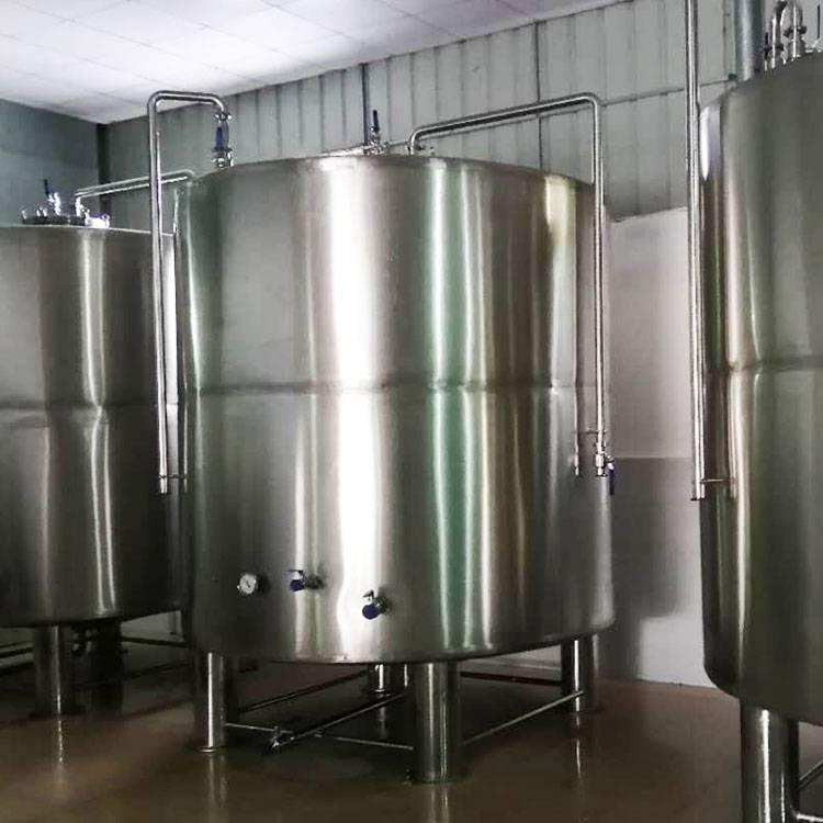 方联供应不锈钢恒温发酵储罐/果类发酵罐双层保温罐不锈钢储酒罐