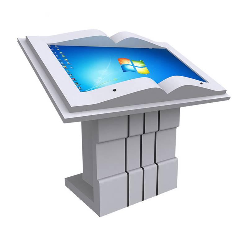电子互动翻书隔空感应翻书43寸55寸虚拟翻书触摸屏电脑一体机